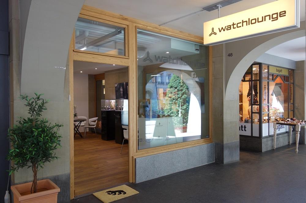 Offizielle Eröffnung der Watch-Lounge Bern: 23.6.2018