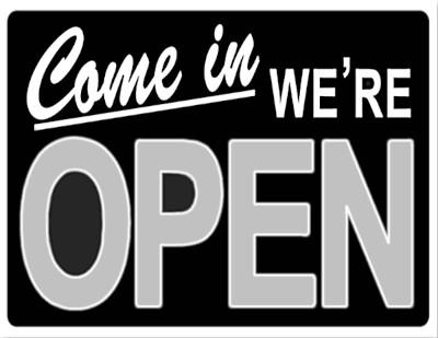 1.3.2021: Wir sind wieder geöffnet!